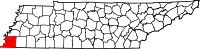 Tennessee's County Map